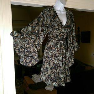 Betsey  johnson ladies dress with sash
